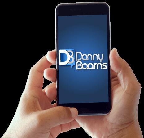 Donny Baarns The Millennial, Cool-Nerd, Guy-Next-Door Voice Banner Mobile Image